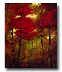 AUTUMN WOODS Image: 30 x 24, Paper: 30 x 24