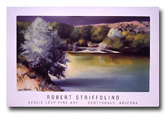 EARLY SUMMER POND Image: 17.5 x 32, Paper: 24 x 37