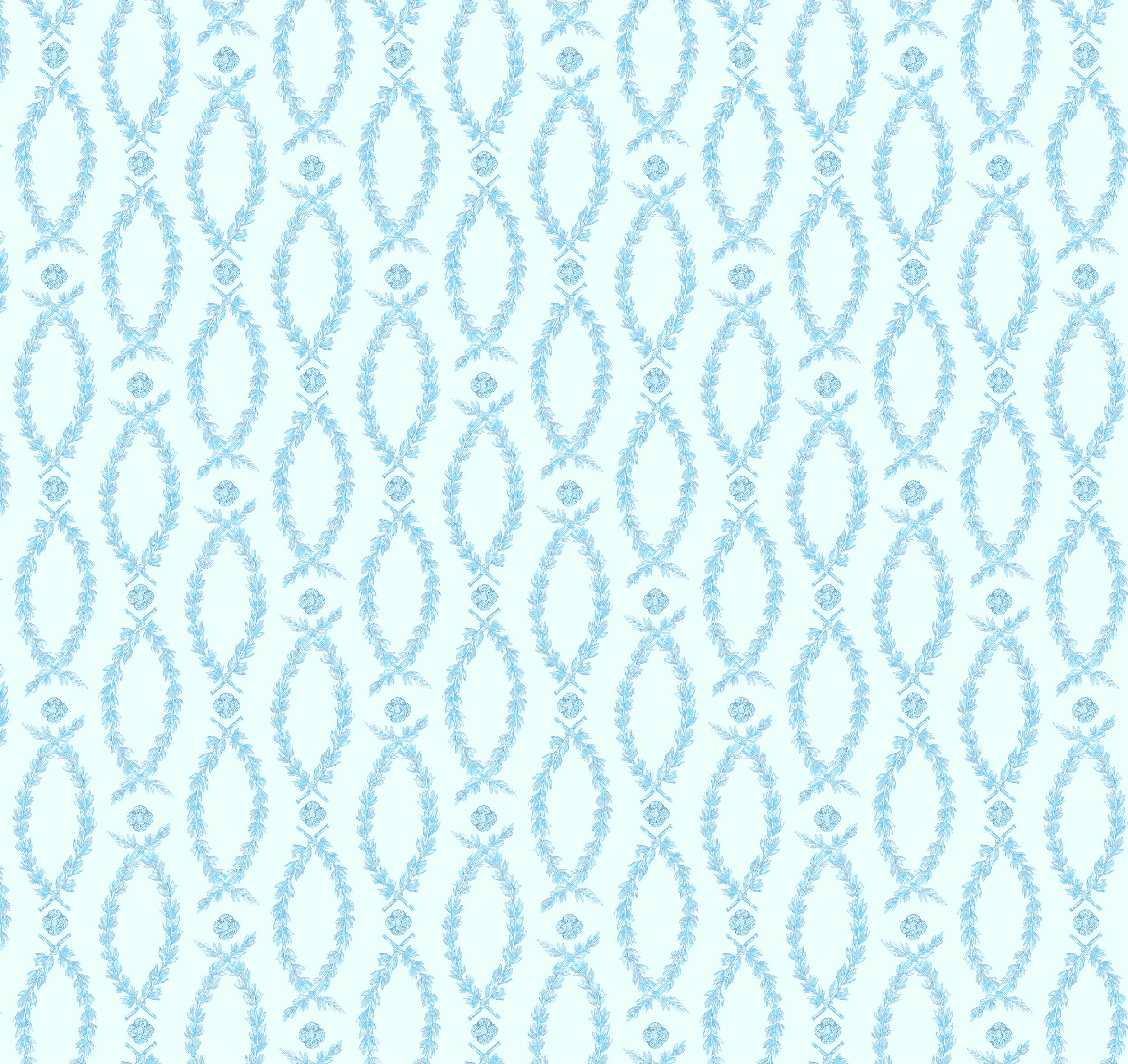 Laurels in Blue