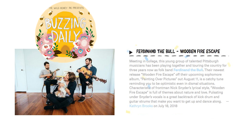 http://www.thewildhoneypie.com/buzzing-daily/ferdinand-and-the-bull-wooden-fire-escape