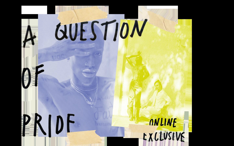 Question of Pride Hero Homepage