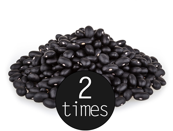 more magnesium than black beans