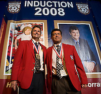 Hugo Perez was inducted into the soccer hall of fame in 2008