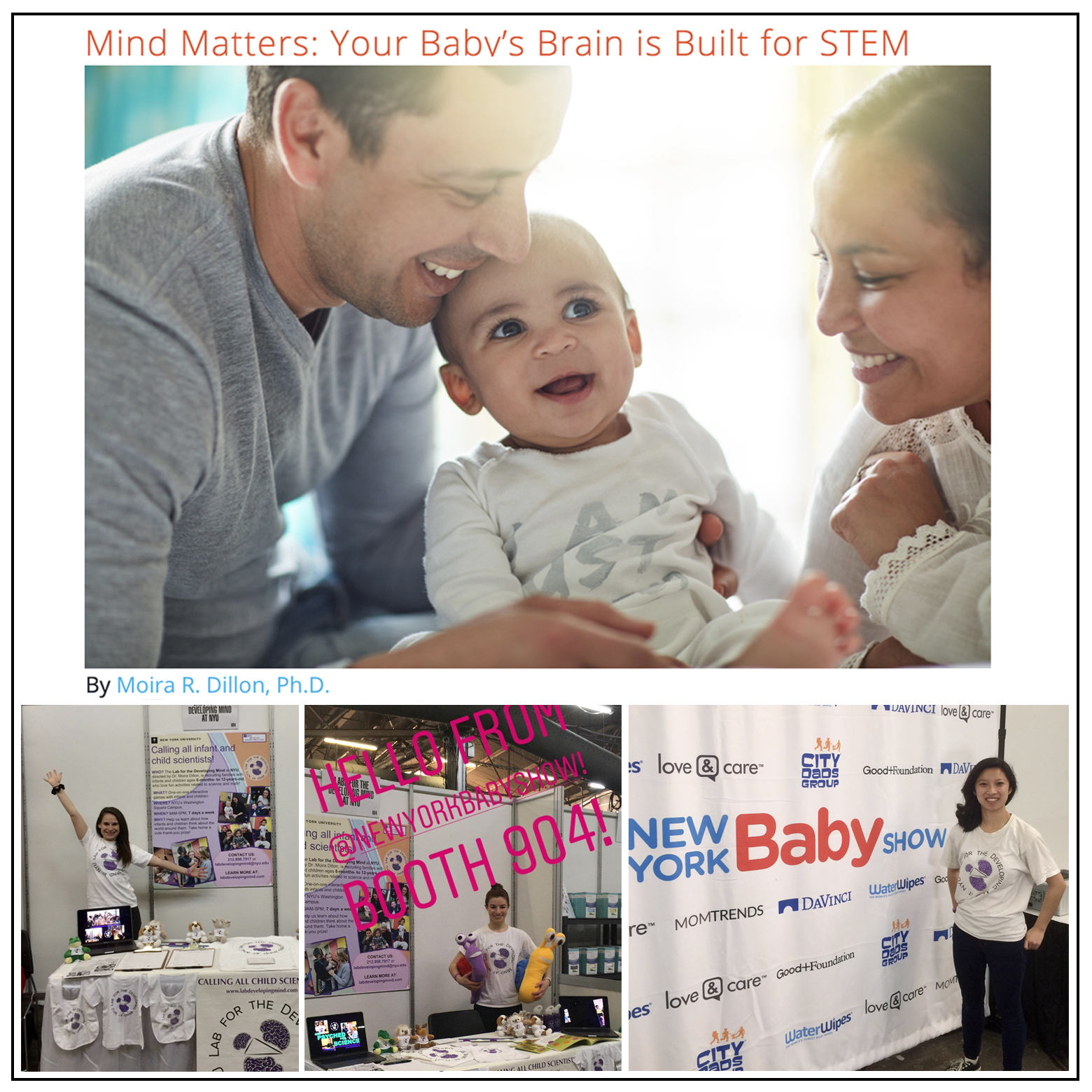 New York Baby show - May 2019Click here to read the article!