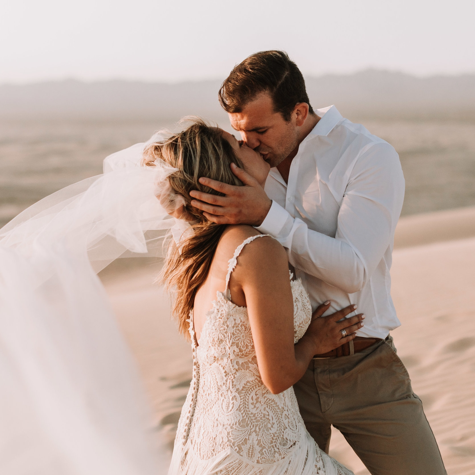 Tiffany + Scott | Styled Elopement | Imperial Sands, CA