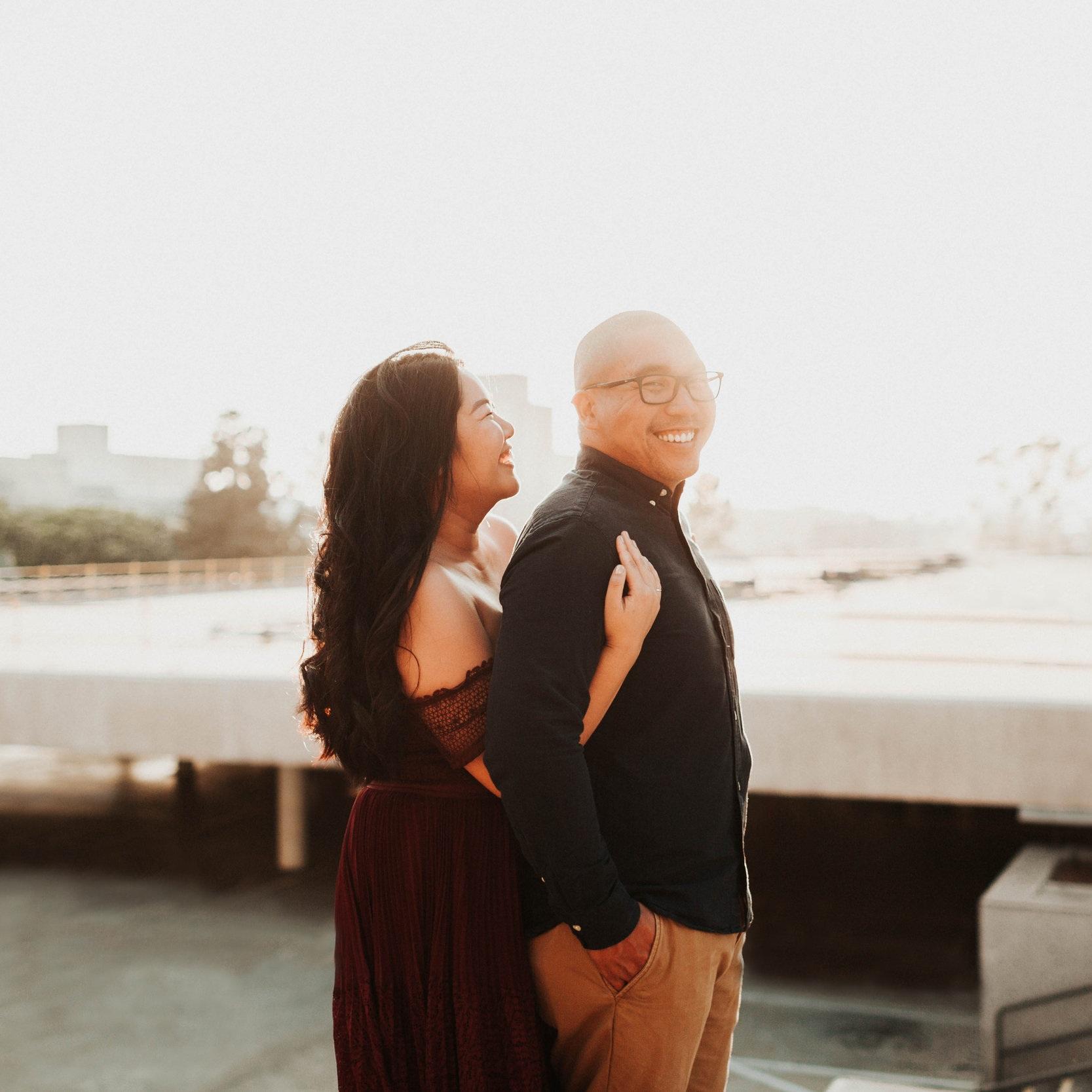Jasmine + Wesley | Engagement Shoot | Downtown Los Angeles, CA