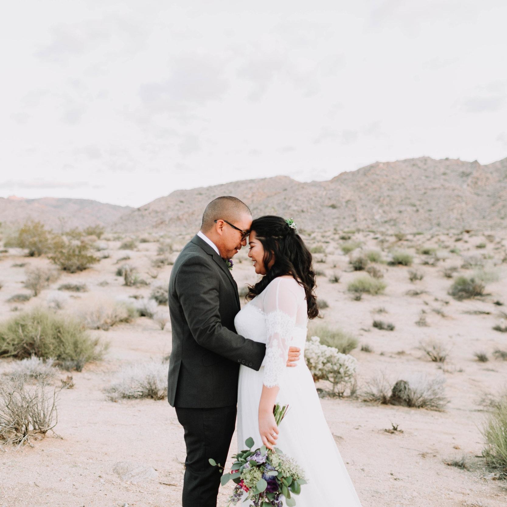 Jasmine + Wesley | Wedding | Joshua Tree Sacred Sands, CA