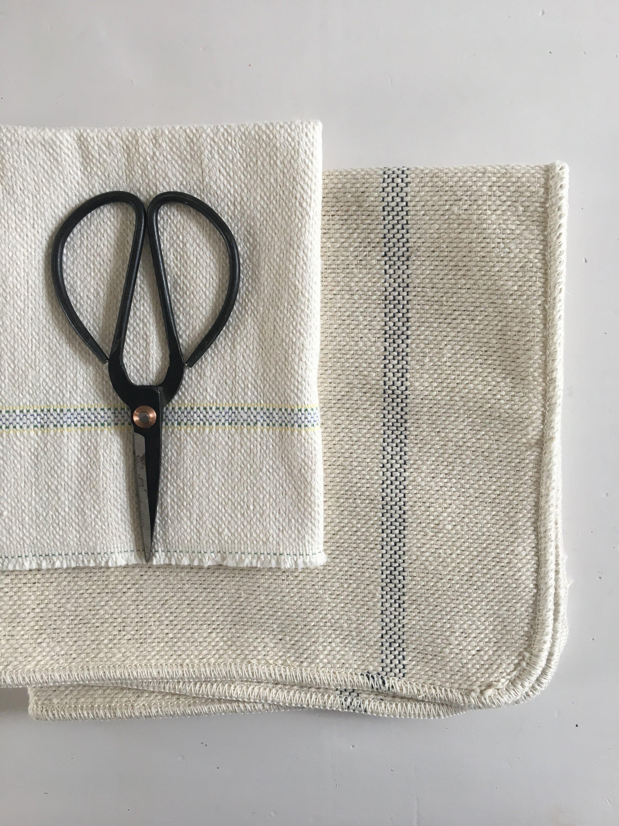 Cloths from £2.50 Scissors £4.95 Lisa Valentine Home.JPG