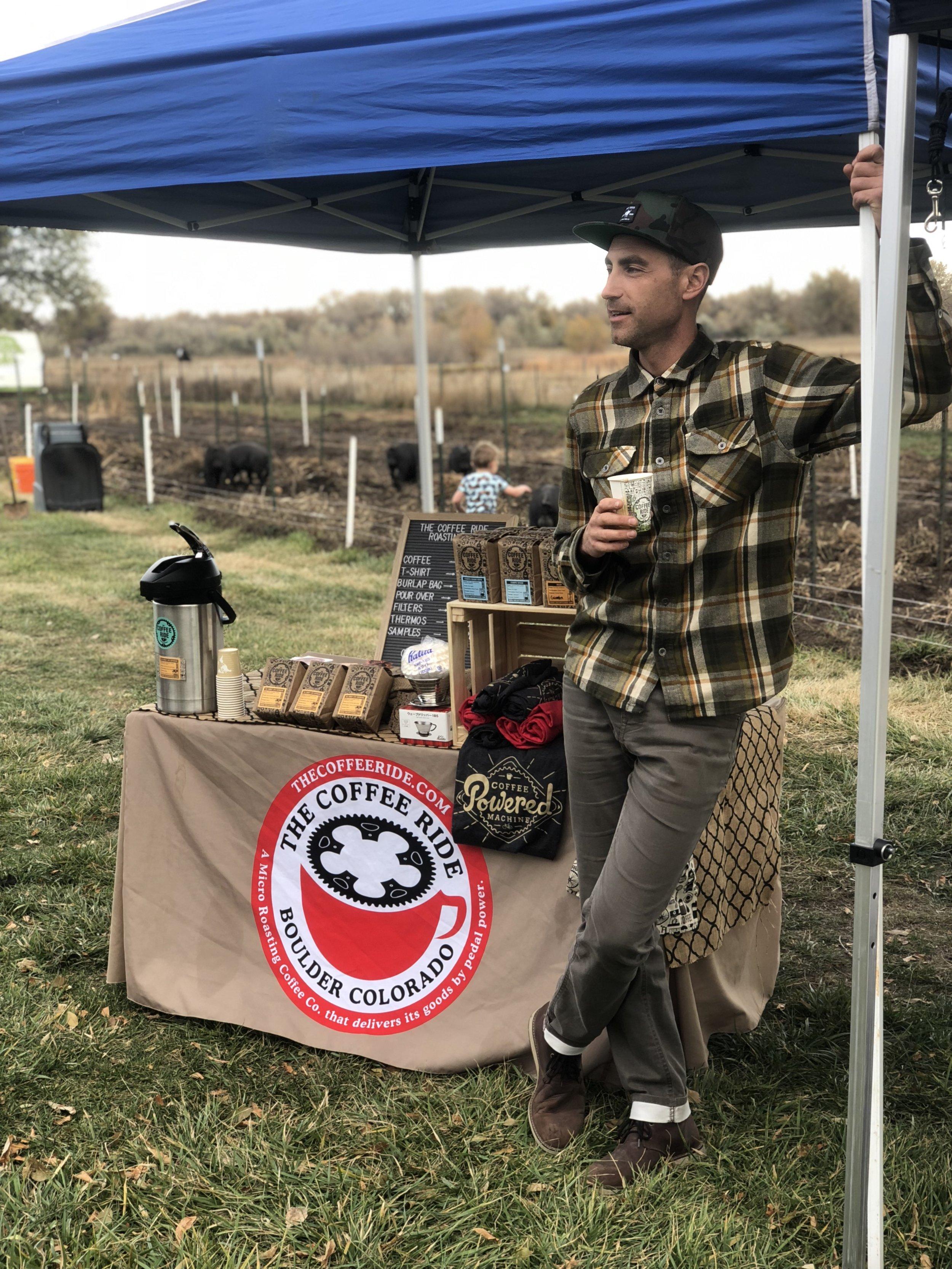 Josh Crane   Owner / Head Roaster / Bike Pedlar,  The Coffee Ride