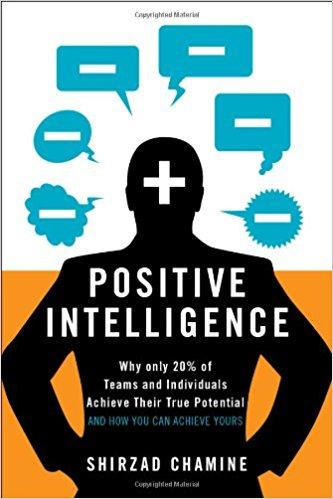 Positive Intelligence by Shirzad Chamine - Positive Intelligence (PQ) measures the percentage of time your mind is serving you as opposed to sabotaging you.  While your IQ and EQ (emotional intelligence) contribute to your maximum potential, it is your PQ that determines how much of that potential you actually achieve.   The great news is that you can improve your PQ significantly in as little as 21 days.  The breakthrough tools and techniques in this book have been refined over years of coaching hundreds of CEOs and their executive teams.  Shirzad tells many of their remarkable stories, showing you how you too can take concrete steps to unleash the vast, untapped powers of your mind.