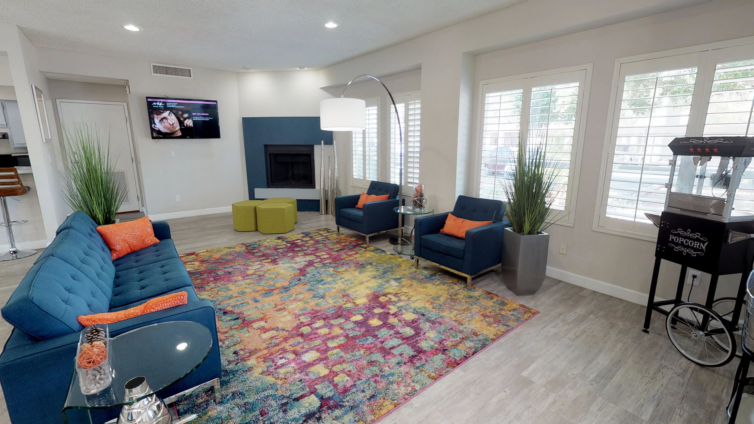 Renovated Leasing Center