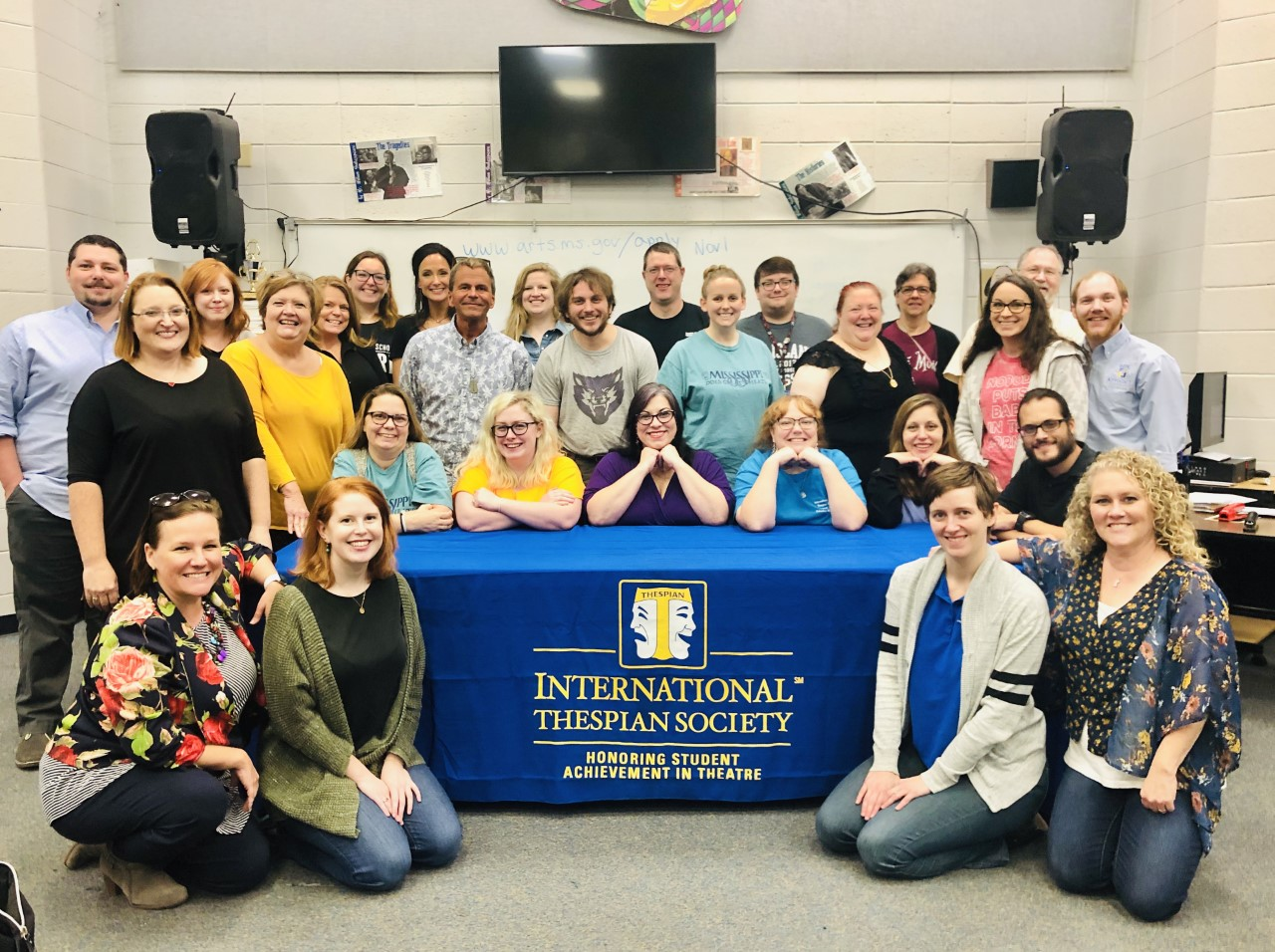 MS Theatre Teachers Summit - Pearl High School, 2019