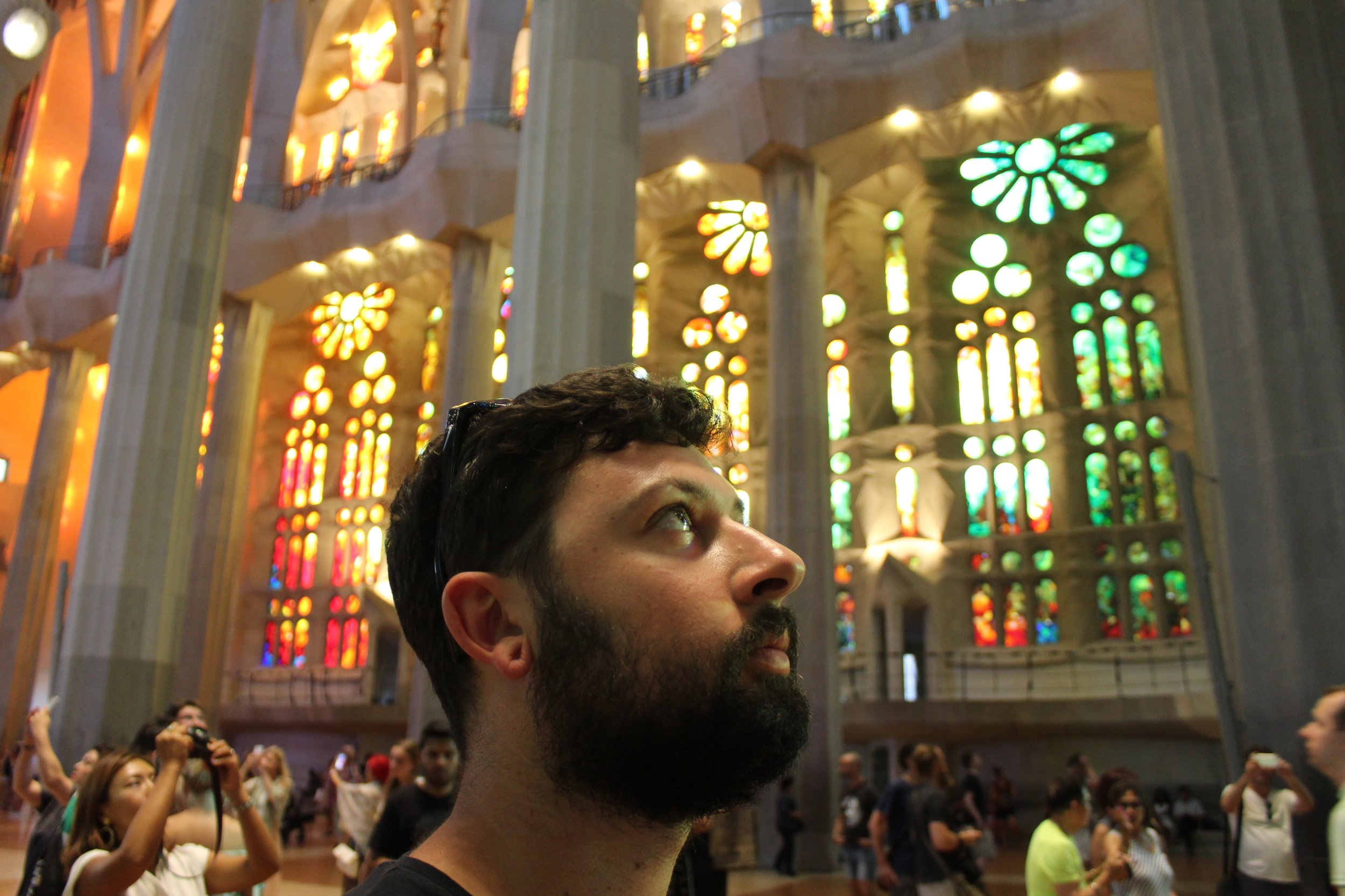 Those stained glass windows tho