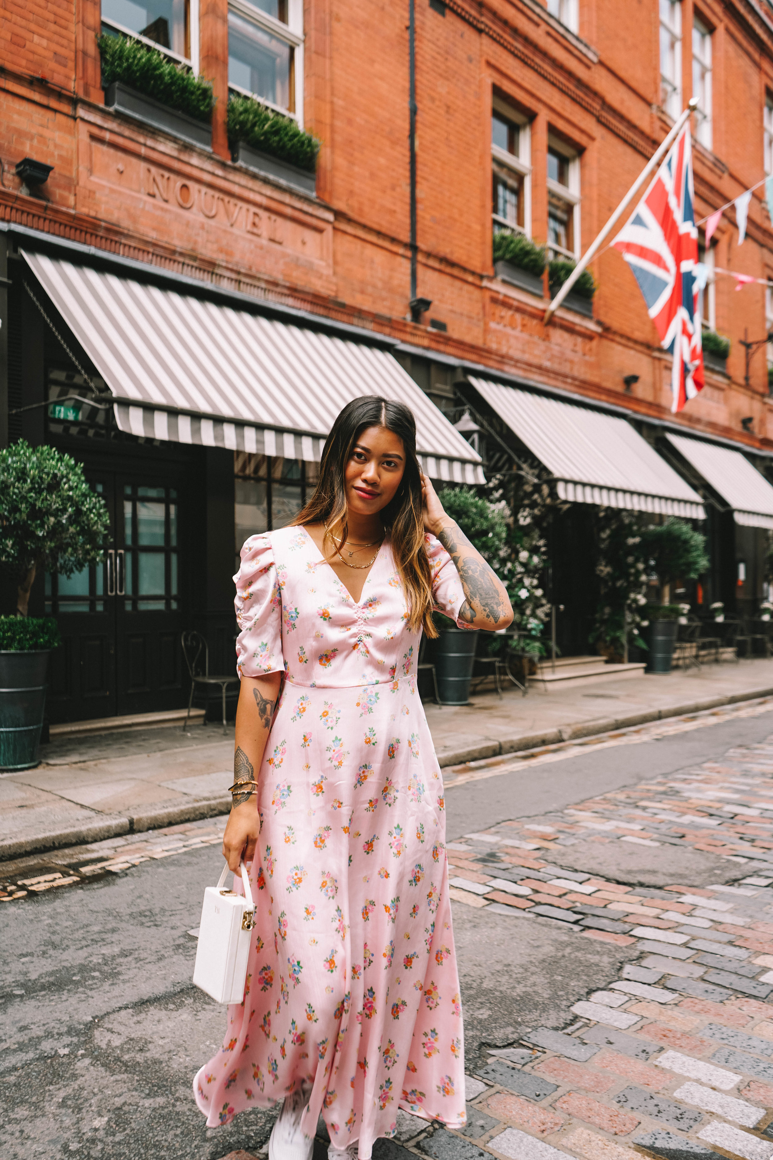 I'm such a tom boy at heart but since I've gotten engaged I felt like I've gotten more in touch with my feminine side. I've started wearing lighter palettes, gravitate towards more to a feminine wardrobe and wearing a lot more colour too. -