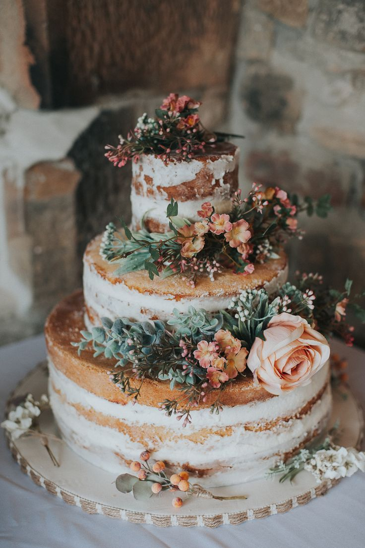 Rustic Wedding At Northfield Farm With Orange & Green Colour Palette With Bride In Jannie Baltzer Headpiece Images By From The Smiths Photography.jpeg