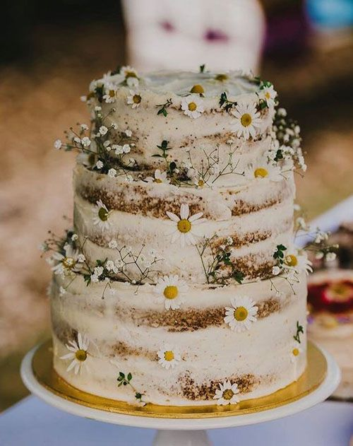 Planning a rustic wedding_ These adorable rustic wedding cakes would be perfect for a garden, barn, or even beachside wedding_.jpeg