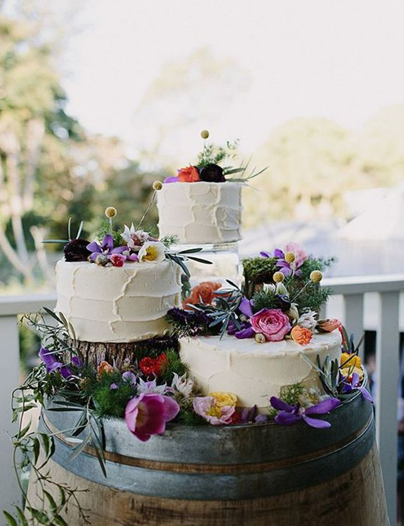From elegant black cakes to geometric shapes, texture and elaborate floral decorations, we hope you'll be inspired by these on-trend wedding cakes for your 2019 wedding at Pentney Abbey_.jpeg