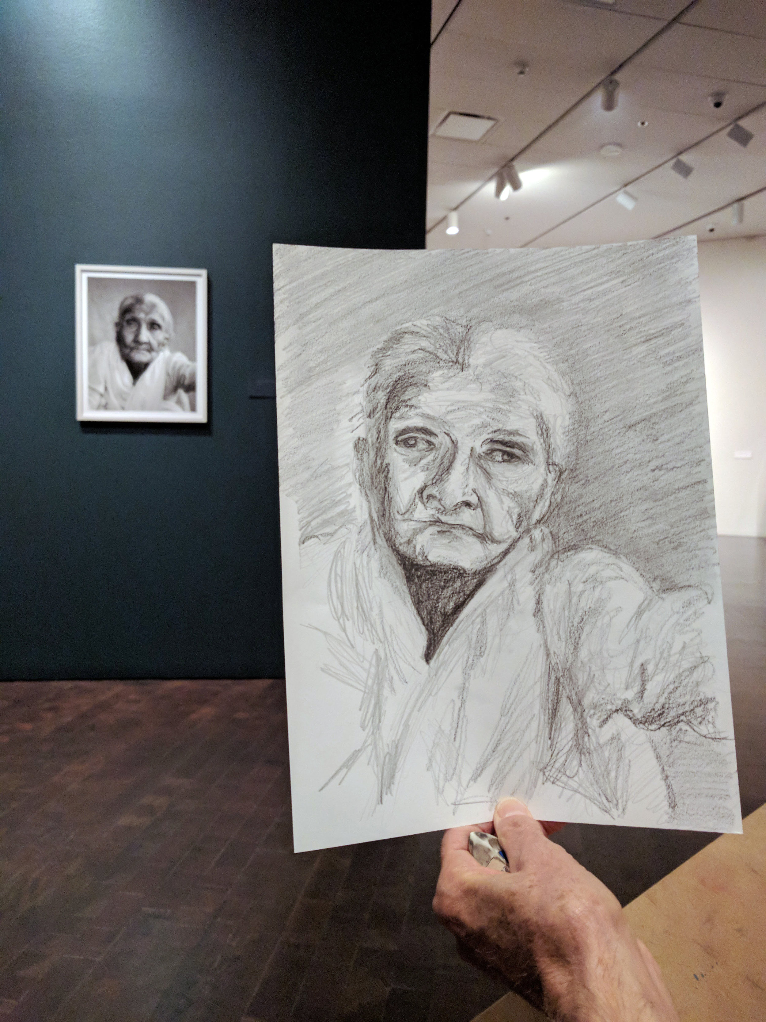 Graphite drawing by George Matthews
