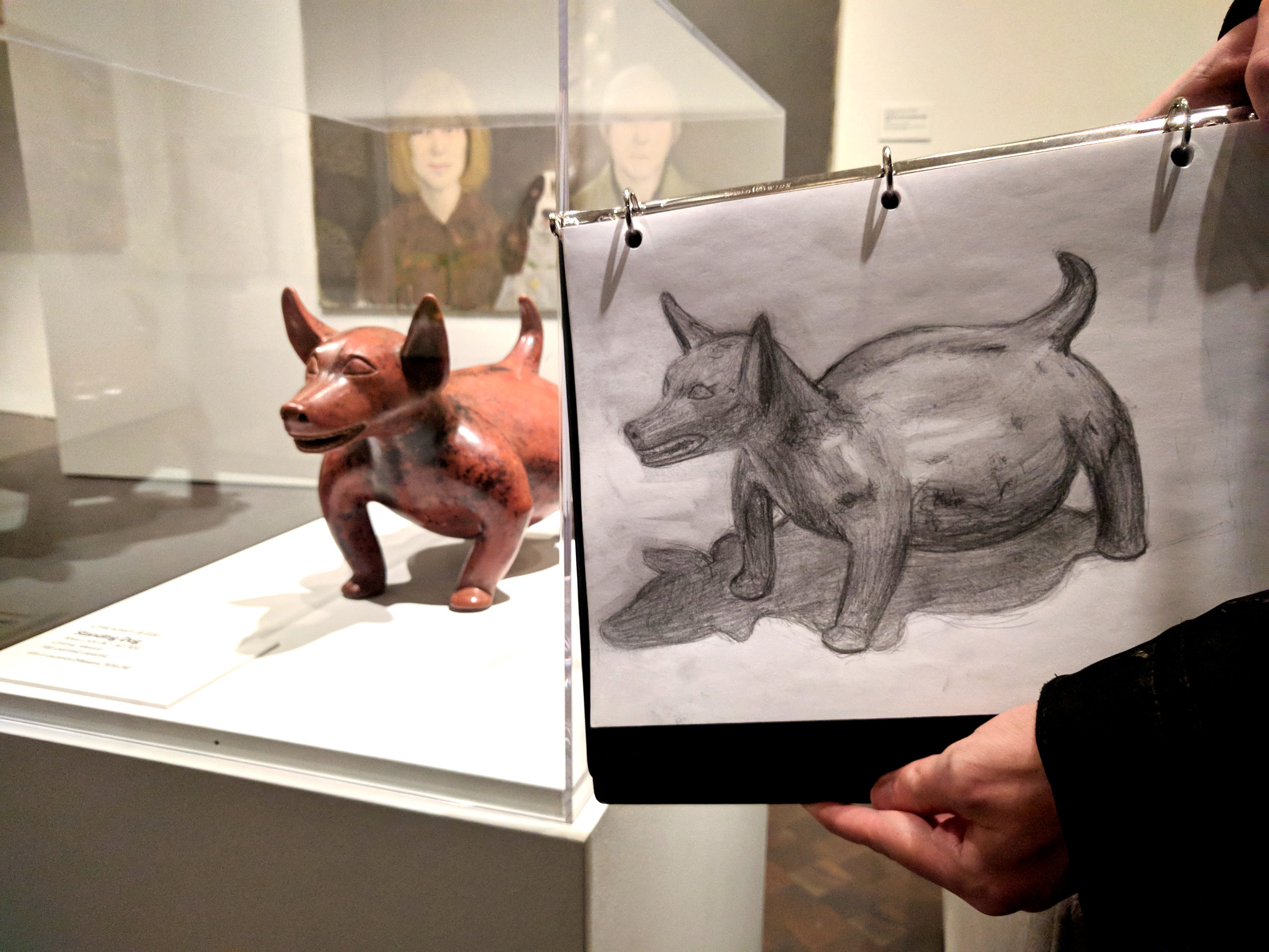 William Wise, graphite on paper