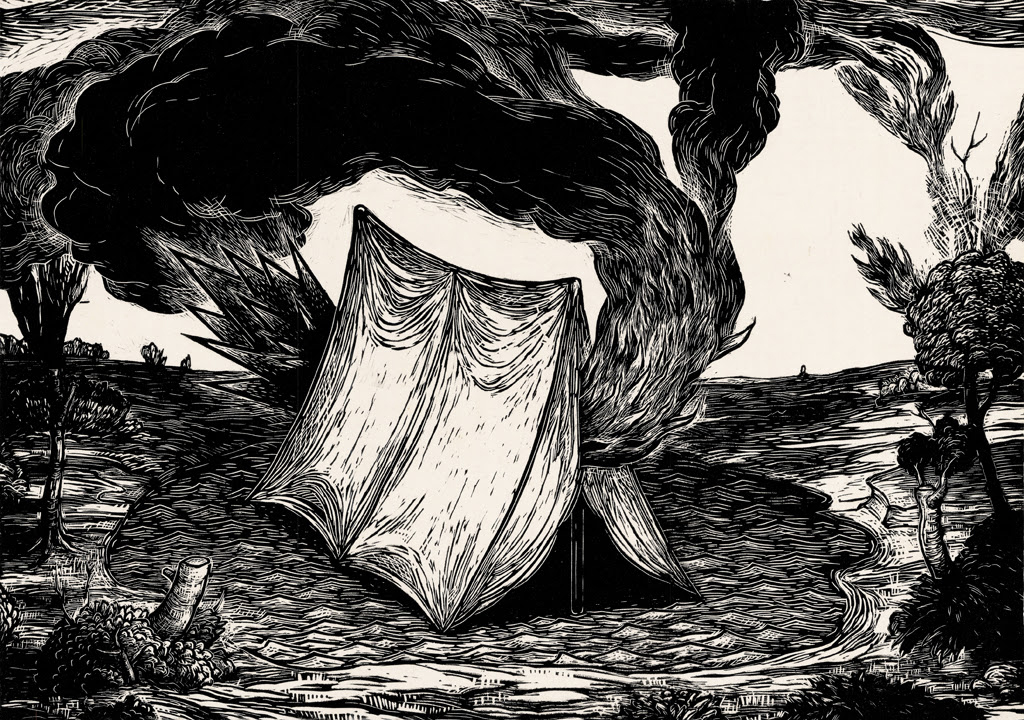 Altered Nature - Please join us at Processusfor a printmaking exhibit with six artists creating hand-pulled prints: Jeffery M. Graves, Sean Caulfield, Mika Aono Boyd, Josh K. Winkler, Theresa Haberkorn, and Anna Kaye.Viviane Le Courtois curated the exhibit