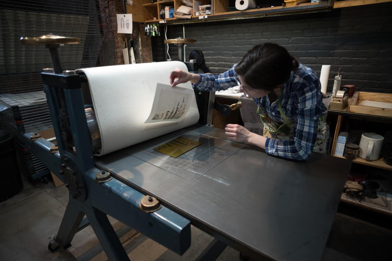 Printing at Processus