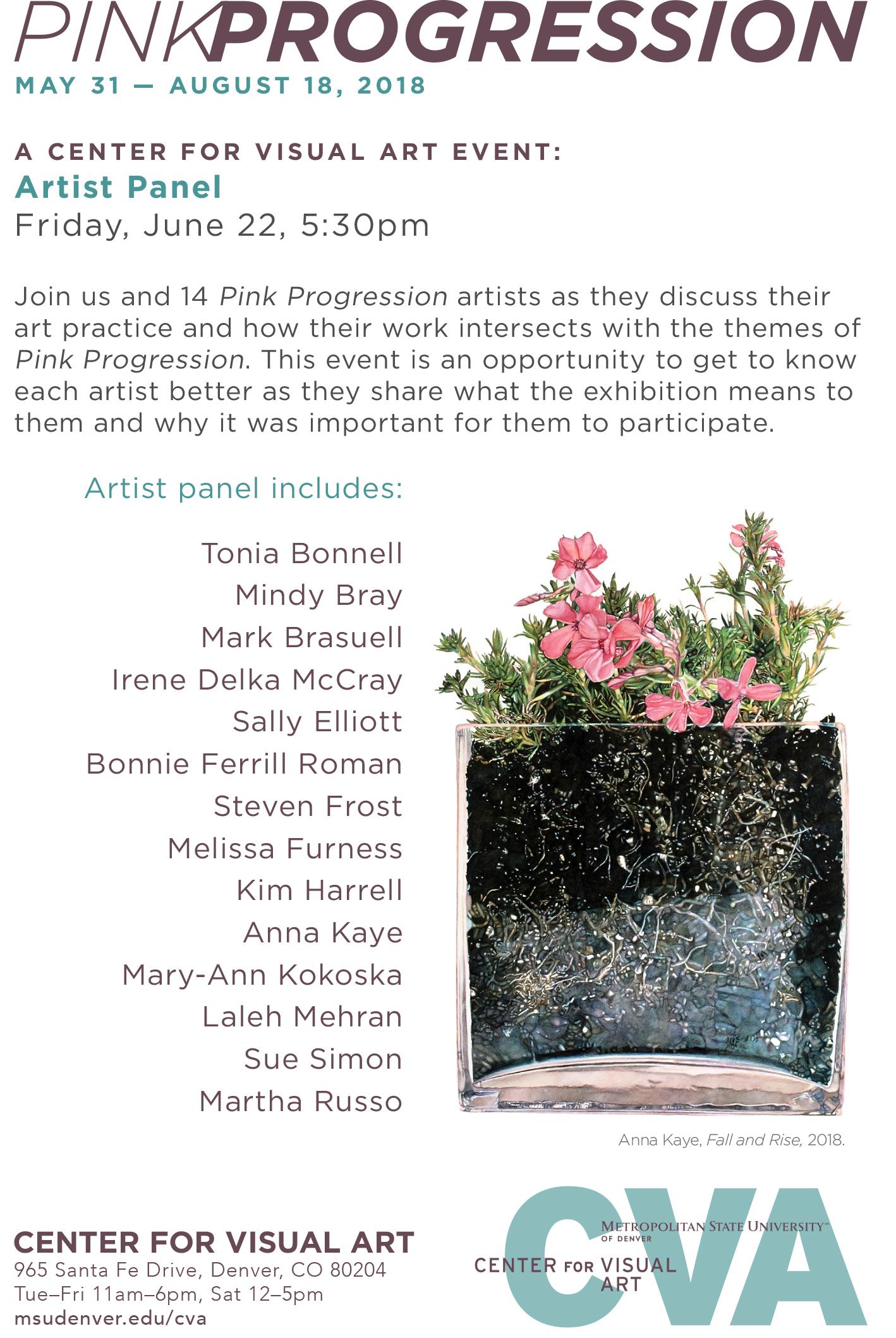 Artist Panel @ CVA - Meet