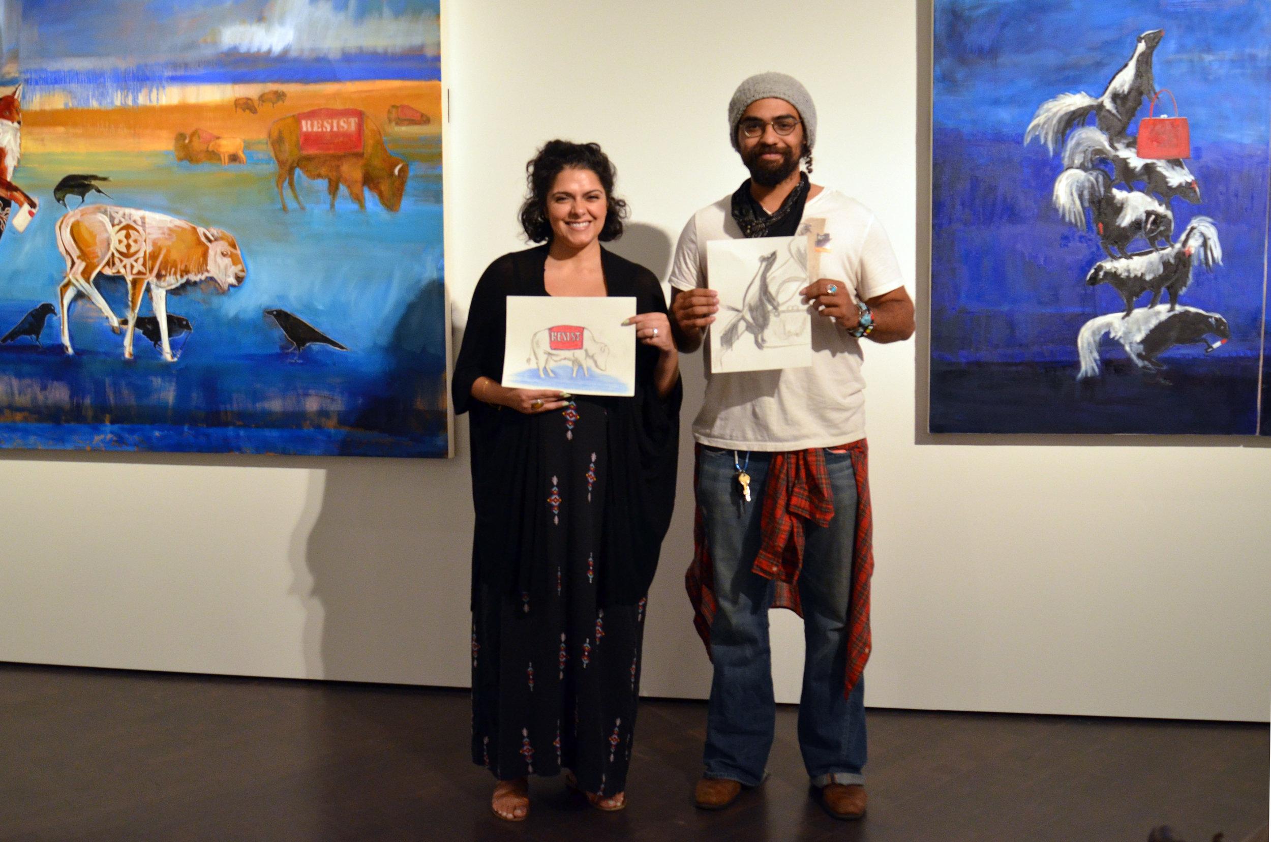 Mona Ghosheh and John Garland