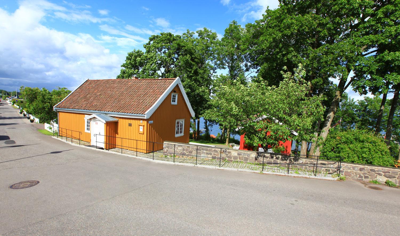 Munchs hus. Fiskerhuset fra 1700-tallet som Munch kjøpte i 1898.