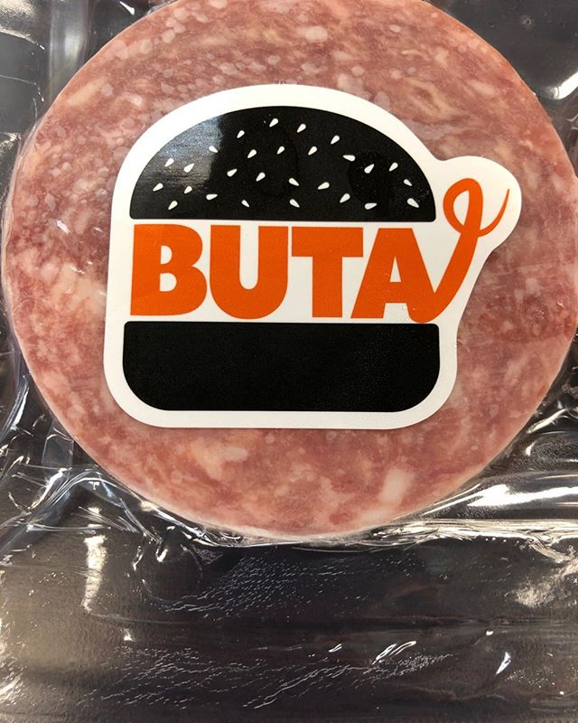 "💯 Berkshire Kurobuta 🍔! KURO translates to ""Black"" and BUTA translates to ""Pig"" in Japanese. BUTA Burgers are clean and light with a flavor that is unmatched! The difference is the unique Berkshire Fat. Excited to see what our chef friends can create with this! Keep your 👀 peeled for even more offerings from our new ""BUTA"" line! #Butaburger #Worldsbestpork #Heritageberkshirepork #Alwaysevolving"