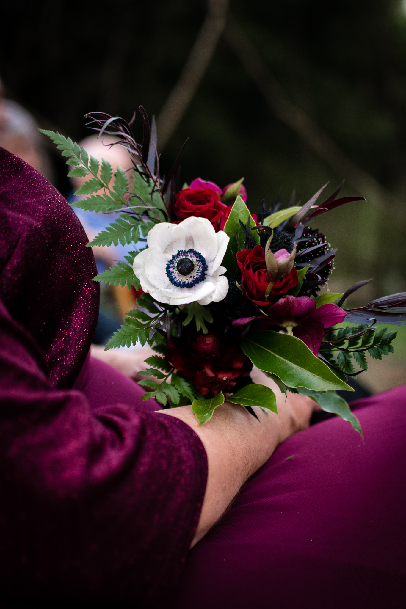 Winter Witchy Woodland Wedding