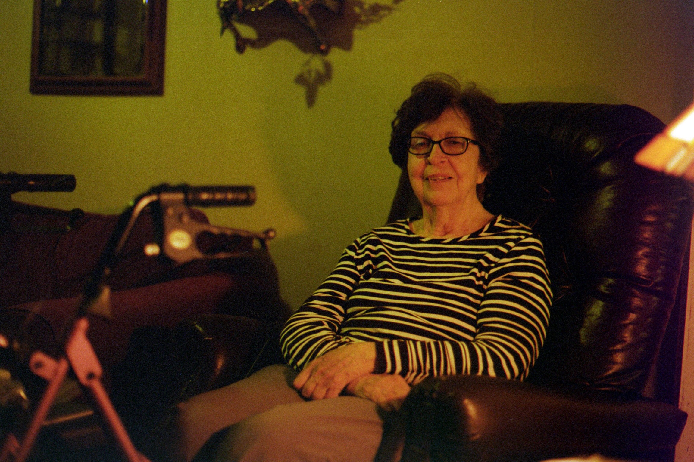 Pictured: Aunt Bonnie