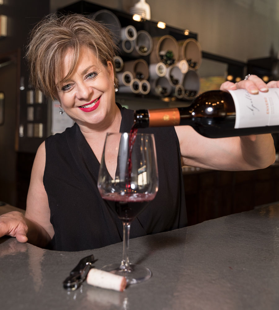 About Mary Guccione - Sommelier | Wine Bar Owner | Any Wine Enthusiast | Goes wherever Doug and Shawn take herMary became a Sommelier a few years ago and studies wine every day from her wine bar. She is known for her ability to pair food with wine to make an amazing experience. Mary has been called 'the perfect hostess' by friends and customers. She comes from a long line of artists and has studied art as well as works as one. Her passion for wine, art and entertaining will work toward creating an amazing experience for you.