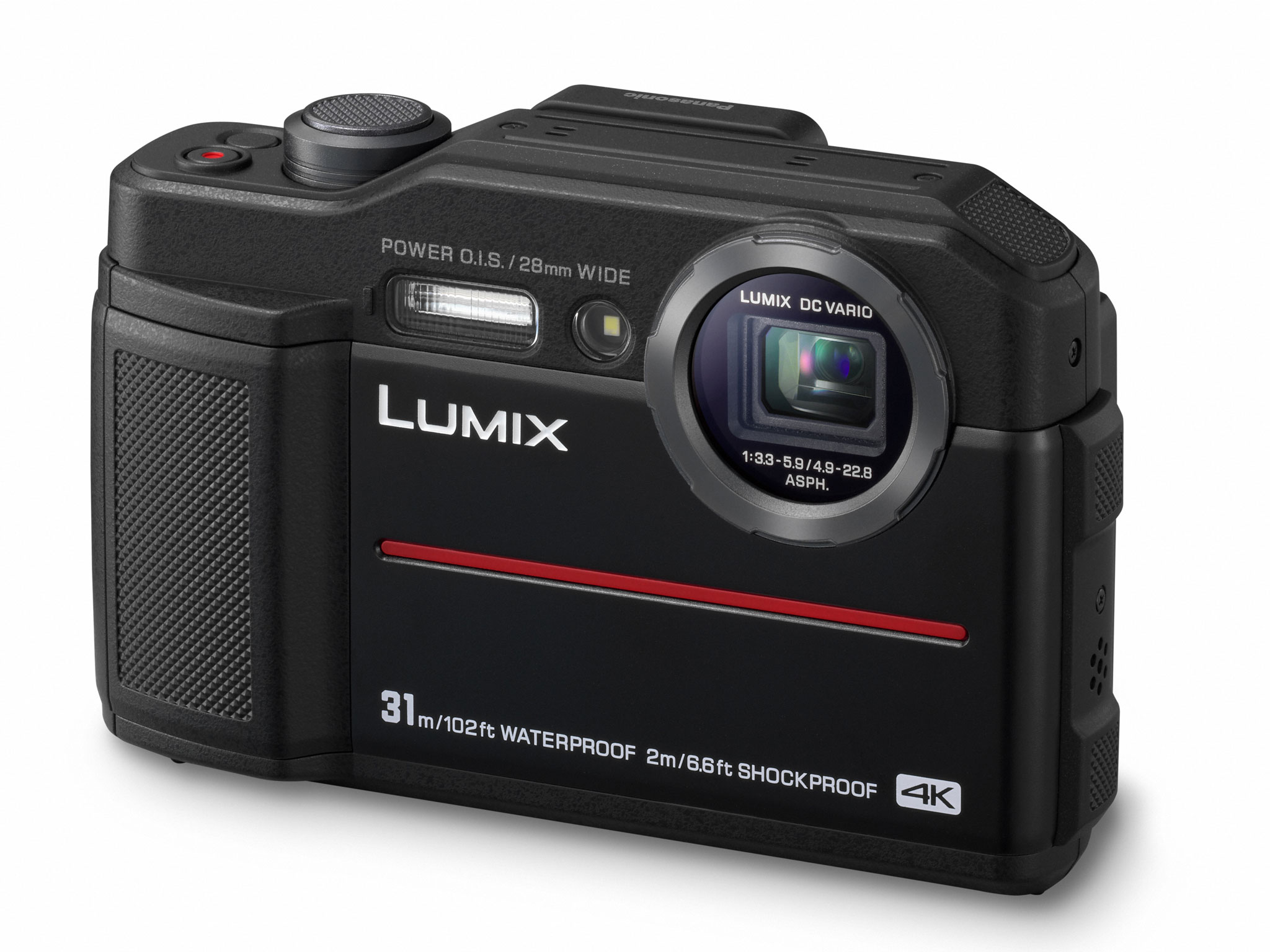 The new waterproof camera from Panasonic. The FT7 or TS7 in the US.