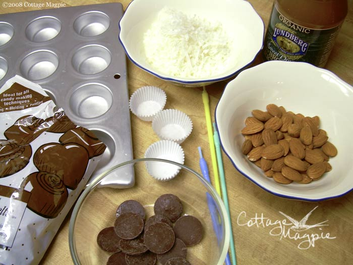 Almond Coconut Candy