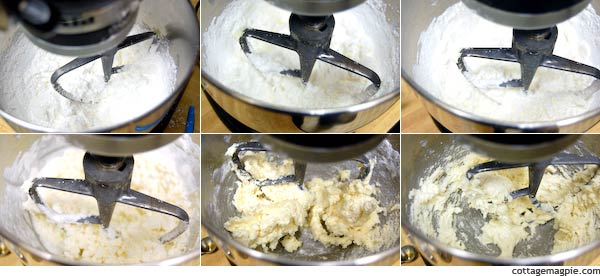 Mixing Buttercream Frosting