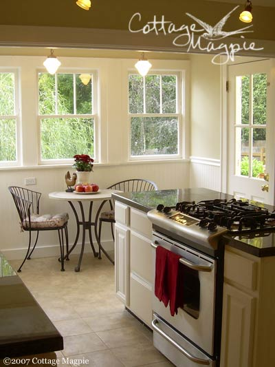 Clean Cottage Kitchen