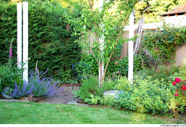 Continuing Progress in the Back Garden via cottagemagpie.com