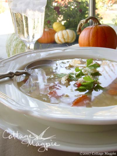 Fast & Easy Turkey & Rice Soup
