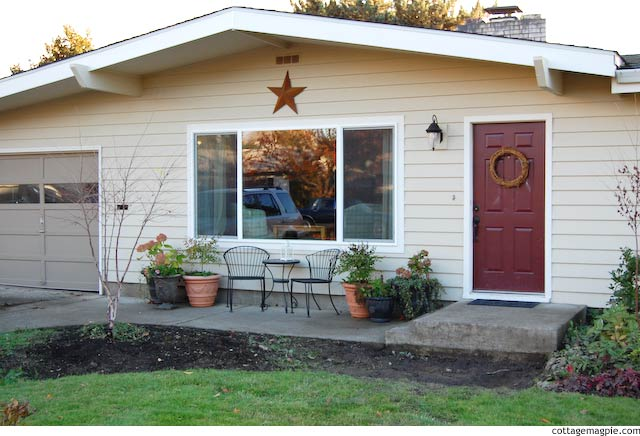 Sightly Improved Front Porch Wider View via Cottage Magpie