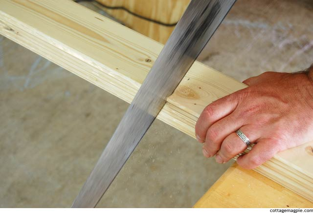 Cutting Full Package of Paneling Strips