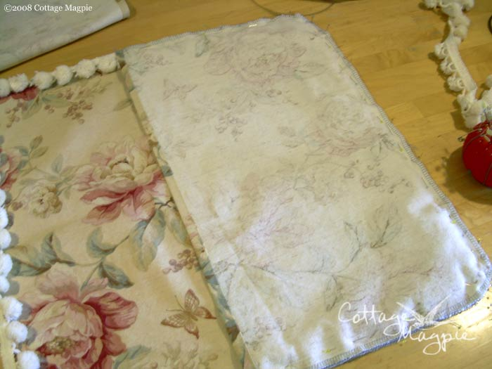 Step 7: Pillow Cover