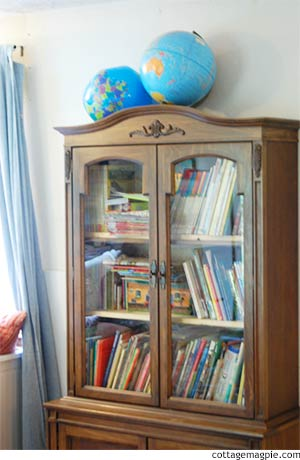Children's Book Armoire