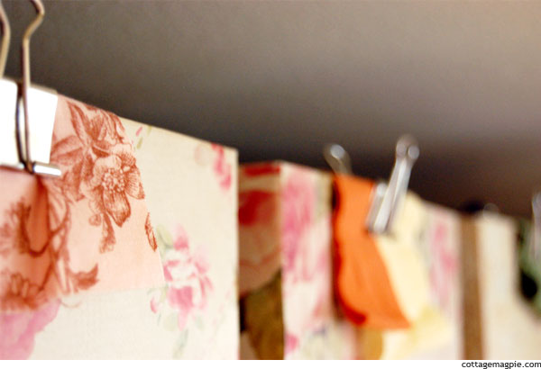 Photo Boxes as Scrap Fabric Storage