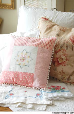 Pretty Vintage Pillows