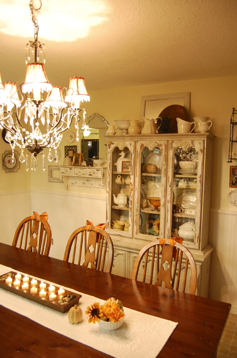 Autumn Cottage Dining Room