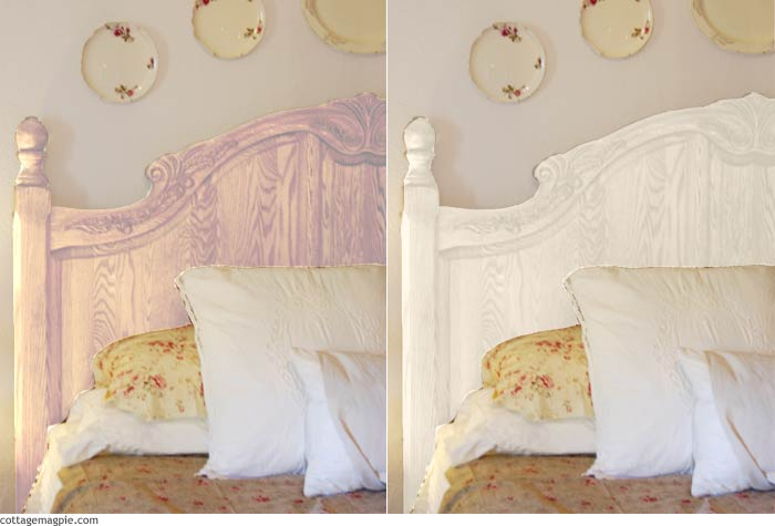 Master Bedroom Bedding Fabric and Paint