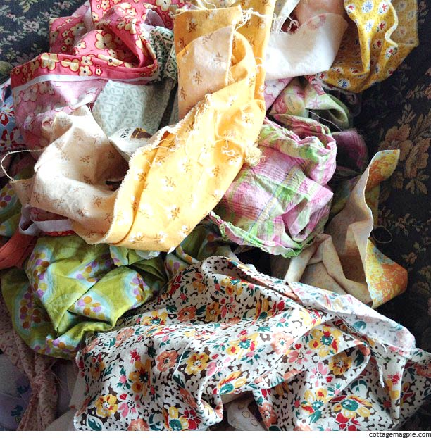 Projects, Fabric and Life via cottagemagpie.com