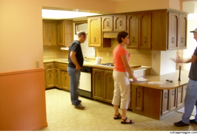 Original Listing Photo of Kitchen in My Home