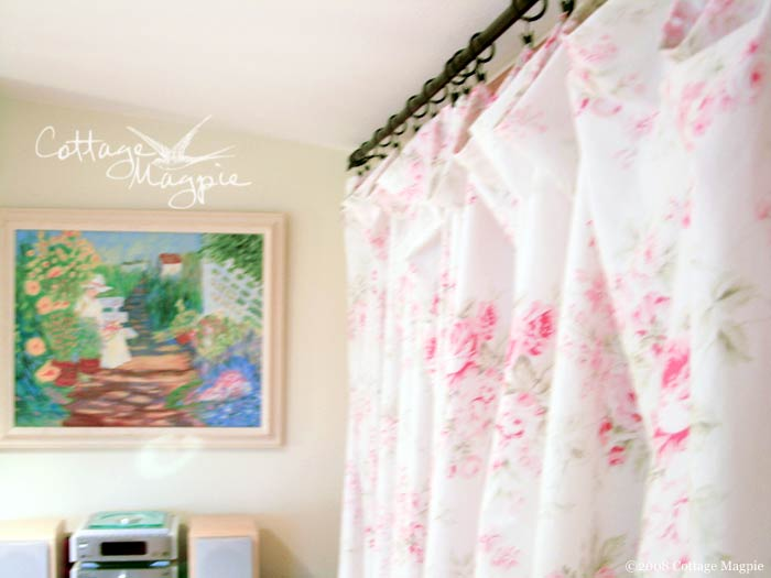 Floral Curtains
