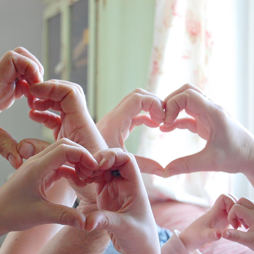 Happy Valentine's Day from My Family to Yours - via www.cottagemagpie.com